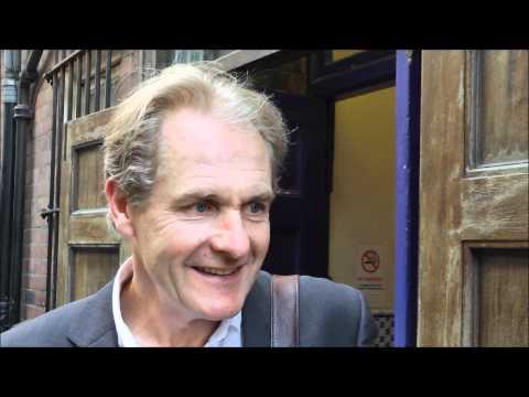 Devine Encounters: Robert Bathurst  Downton Abbey's Sir Anthony Strallan