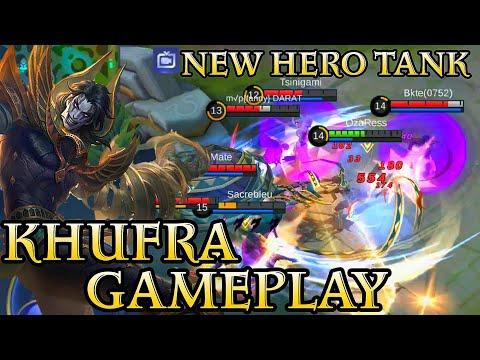 New Hero Khufra Gameplay - Mobile Legends Bang Bang