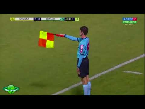 Criciúma 0x0 Guarani - Campeonato Brasileiro Série B 2018 - 24ª Rodada