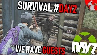 DAYZ ON XBOX ONE #DAY2 LONELY PLANET!! CONTROLS NEED WORK!?