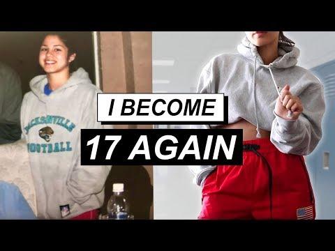 Recreating My High School Looks | MeganBatoon