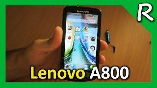 Lenovo A800 обзор, тестирование (85$)