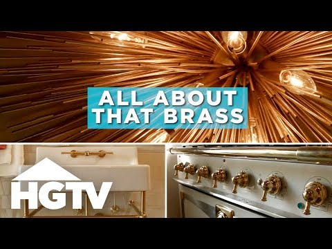 Brass Is Back! Here's How to Use It in Your Home - HGTV