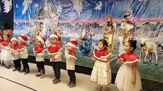 핸즈유치원 핸드벨연주(크리스마스 발표회)