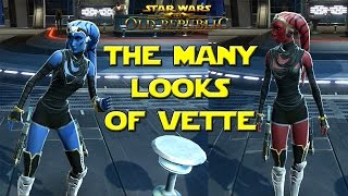 SWTOR Vette - Complete Companion Customizations