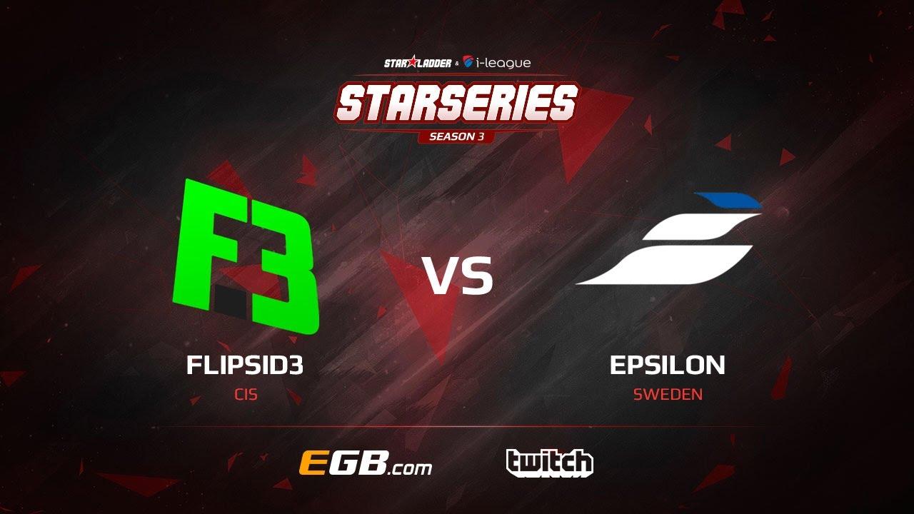 FlipSide vs Epsilon, map 1 mirage, SL i-League StarSeries Season 3 Europe Qualifier