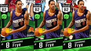 The Perfect Budget Squad Card | Emerald Channing Frye Debut! | NBA 2K17 MyTeam Online Gameplay