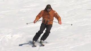 Урок 22 - Повороты малого радиуса. Школа горных лыж.