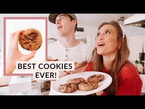 THE PERFECT CHOCOLATE CHIP COOKIES | Kristin's Kitchen