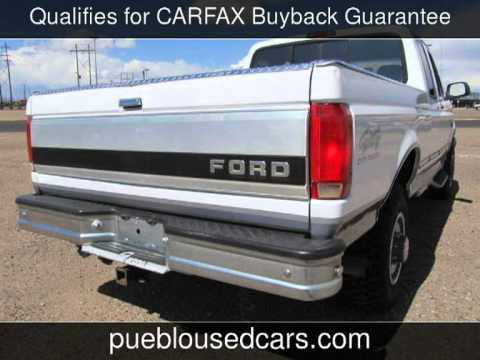 Ford F  Xlt Ext Cab X Used Cars Pueblocolorado
