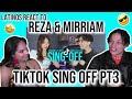 Latinos react to Reza Darmawangsa & Mirrian Eka SING-OFF TIKTOK SONGS Part III   REACTION 🤩👏😂
