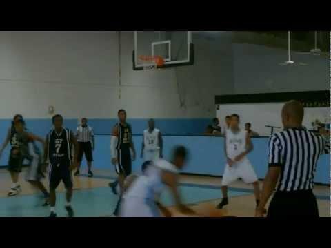 Michael Gaston highlights from basketball tournament