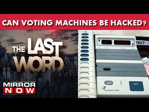 Can Voting Machines Be Hacked?   The Last Word