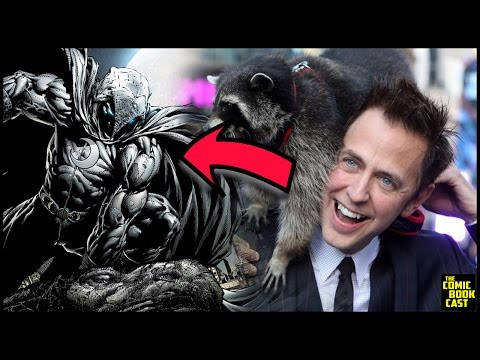 James Gunn on Directing Moon Knight & Already Pitched it to Marvel