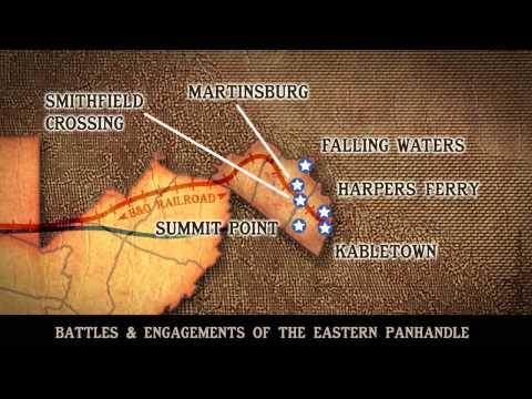 Eastern Panhandle Battle Map