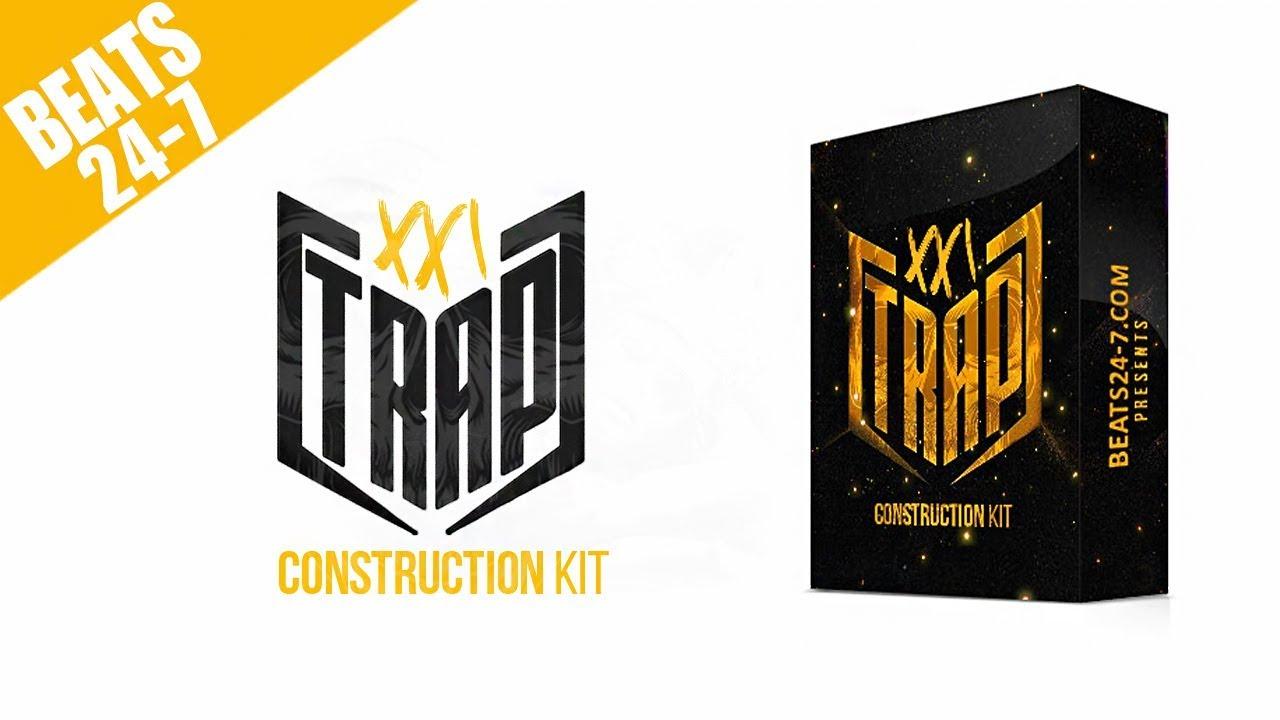 Trap XXI [Trap Construction Pack] Trap Drum Kit Sample Pack