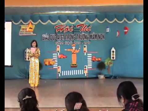 Thi ATGT Trường Mầm Non I TP Hà Tĩnh - P.2