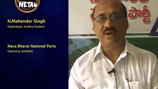 N. Mahender Singh, Nava Bharat National Party || Hyderabad, Andhra Pradesh