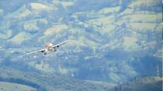 Amazing crosswind SKPS Rwy02 and Rwy 20 - Avianca - A318 [1080p]