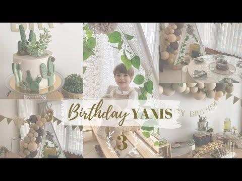 ❥ Préparatifs & anniversaire pour les 3 ans de Yanis