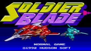 [60fps] Soldier Blade (ソルジャーブレイド) [PC Engine] - 1CC - ALL Clear - No Miss - 1,950,700 pts - edusword