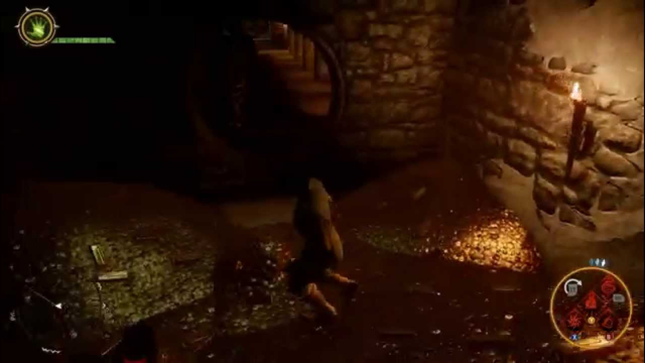 Dragon Age Inquisition Skyhold Vault Entrance Youtube