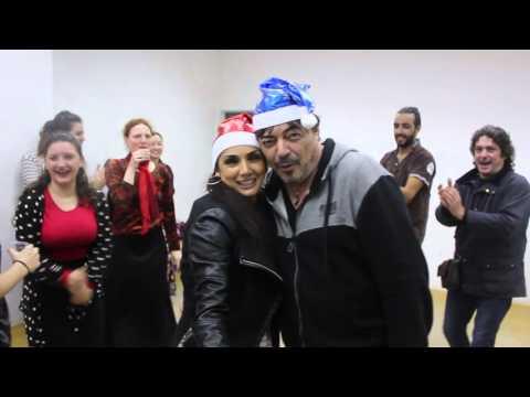 Feliz Navidad les desea Flamencos por el mundo