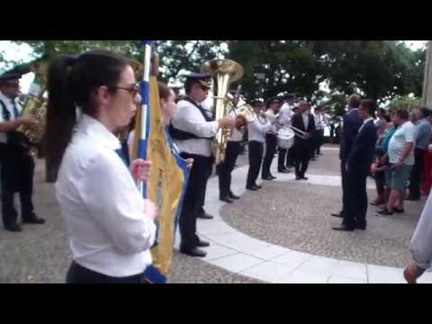 Banda de Vila Boa de Quires - entrada na festa