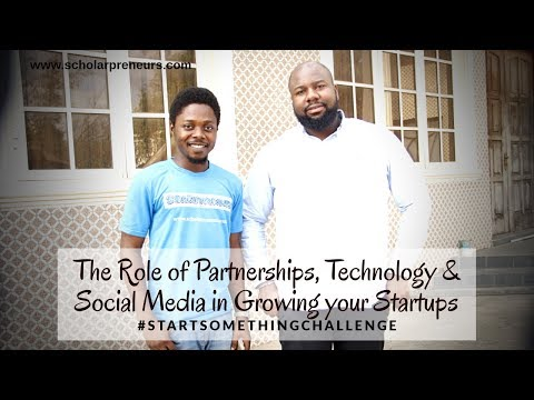 SHWOO - The Role of Partnership, Technology, and Social Media, in Growing your Startup