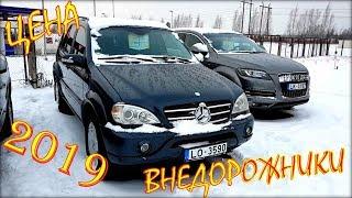 Авто из Литвы, внедорожники и кроссоверы цена 2019 январь.