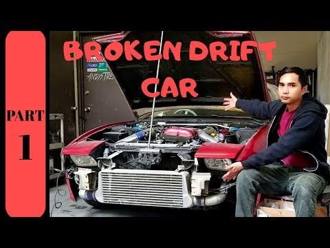 DRIFT CAR REPAIR with Mechanically Reclined and A small introduction to my Nissan 240sx