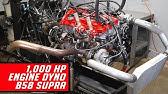 B58 Engine Dyno 1000+ Horsepower - Sounds like a 2JZ!?