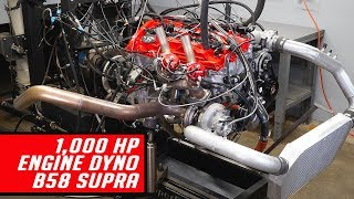 B58 Engine Dyno 1000+ Horsepower - Sounds like a 2JZ!?