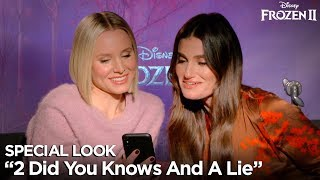 """2 Did You Knows and A Lie"" Special Look 