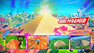 PYRAMID forming out of CUBE TOWN & Taking a look at Creator Pyramids from the past