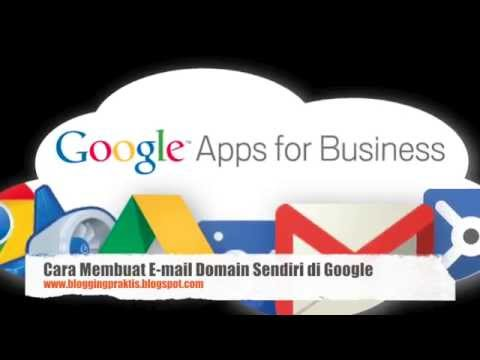 Cara Membuat E-mail dengan Domain Sendiri di Google
