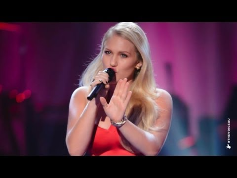Anja Nissen sings His Eye Is On The Sparrow | The Voice Australia 2014