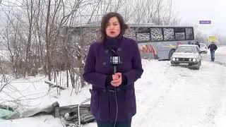 Nesreća na putu Novi Pazar Raška - uklučenje sa lica mesta