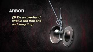 UglyStik  How to Tie an Arbor Knot (Dunham's Sports)