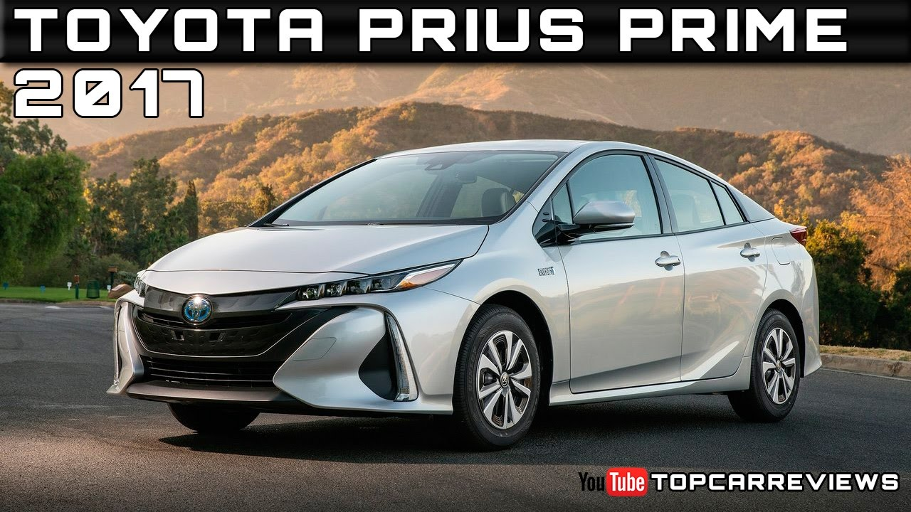 2017 Toyota Prius Prime Review Rendered Price Specs Release Date