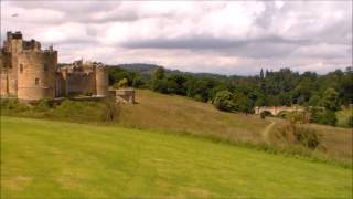 Alnwick Gardens and Alnwick Castle Views and Attractions