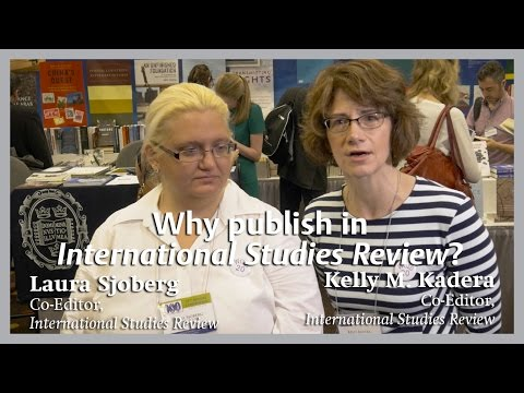Why publish in International Studies Review?