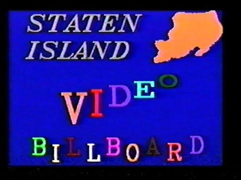 Staten Island Cable Video Billboard (1992)