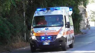Ambulanza Asur Marche in Emergenza / Italian Ambulance in Emergency
