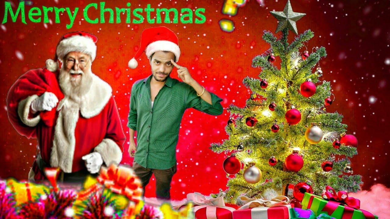 Christmas Special Pic Editor | Picsart tutorial | Pankaj\'s Editing ...