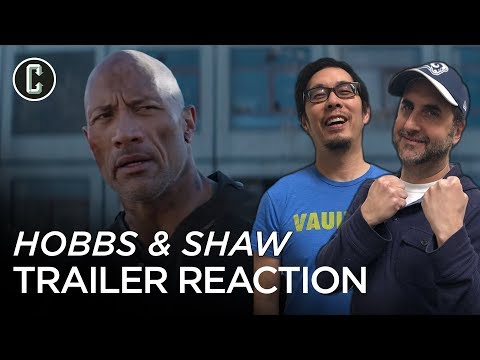 Hobbs & Shaw Trailer Reaction & Review