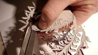 Sheep Shear Cutting Papercut Artwork Demonstration Part I