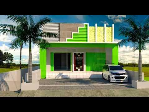 25+ inspirasi keren model rumah kios sederhana - aneka