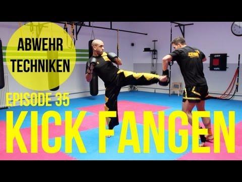 Kickbox Training #35 - Roundhouse Kick Fangen / Feger / Abwehrtechnik / Kickboxen / Boxen / Köln