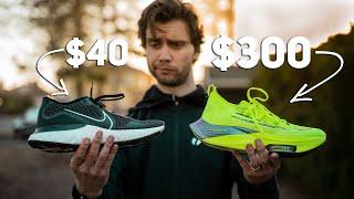 $40 Running Shoe VS $300 Running Shoe!!